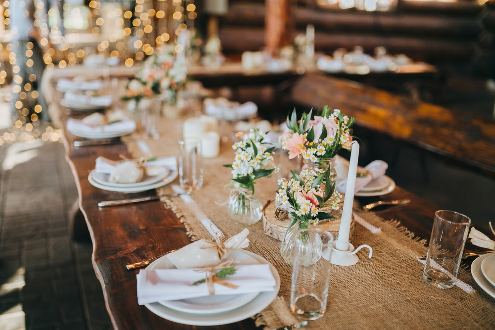 10 ideias de decoração para casamento rústico