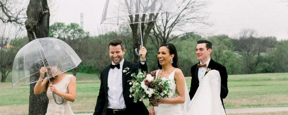 O que fazer se chover no dia do casamento ao ar livre?