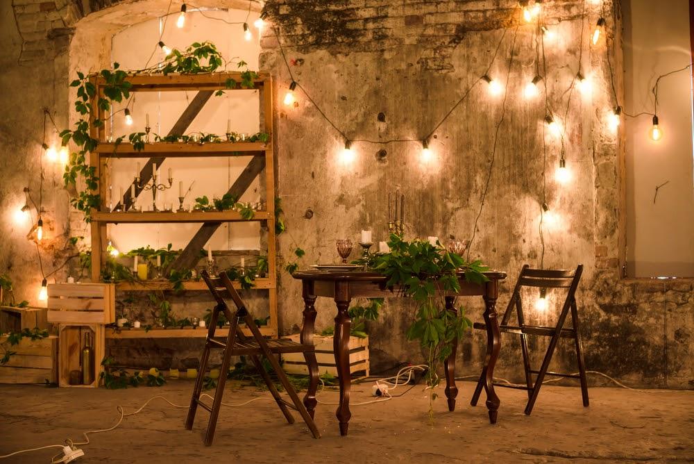 Como planejar a iluminação para os móveis de casamento?