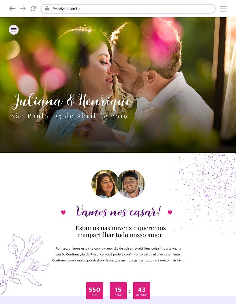 Vibe de Casamento - Florido